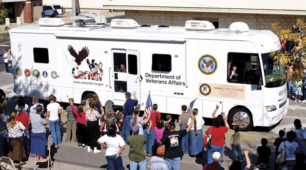 A Mobile Vet Center file photo