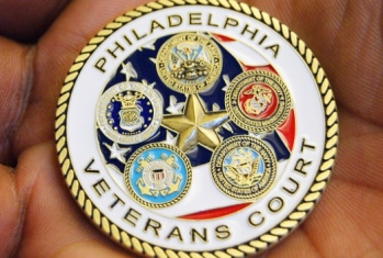 Philadelphia Veteran Treatment Court coin