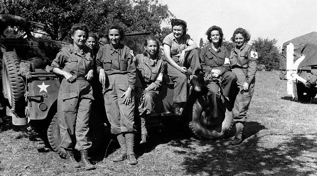 Female nurses in 1944