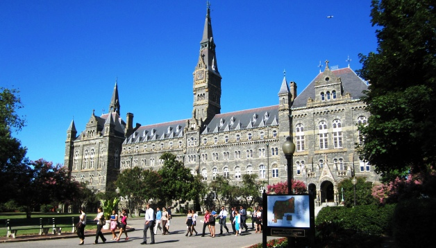 Photo of the Georgetown campus