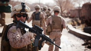 Photo of Marines in Afghanistan