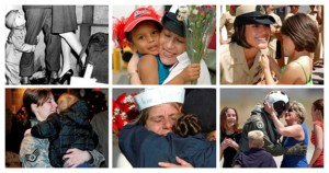 Six photos of mothers in a grid