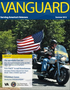 Vanguard cover summer 2013