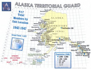 Alaska Territorial guard Map