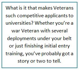 Attention Veterans: Stanford Wants You (As Do Other Top Universities