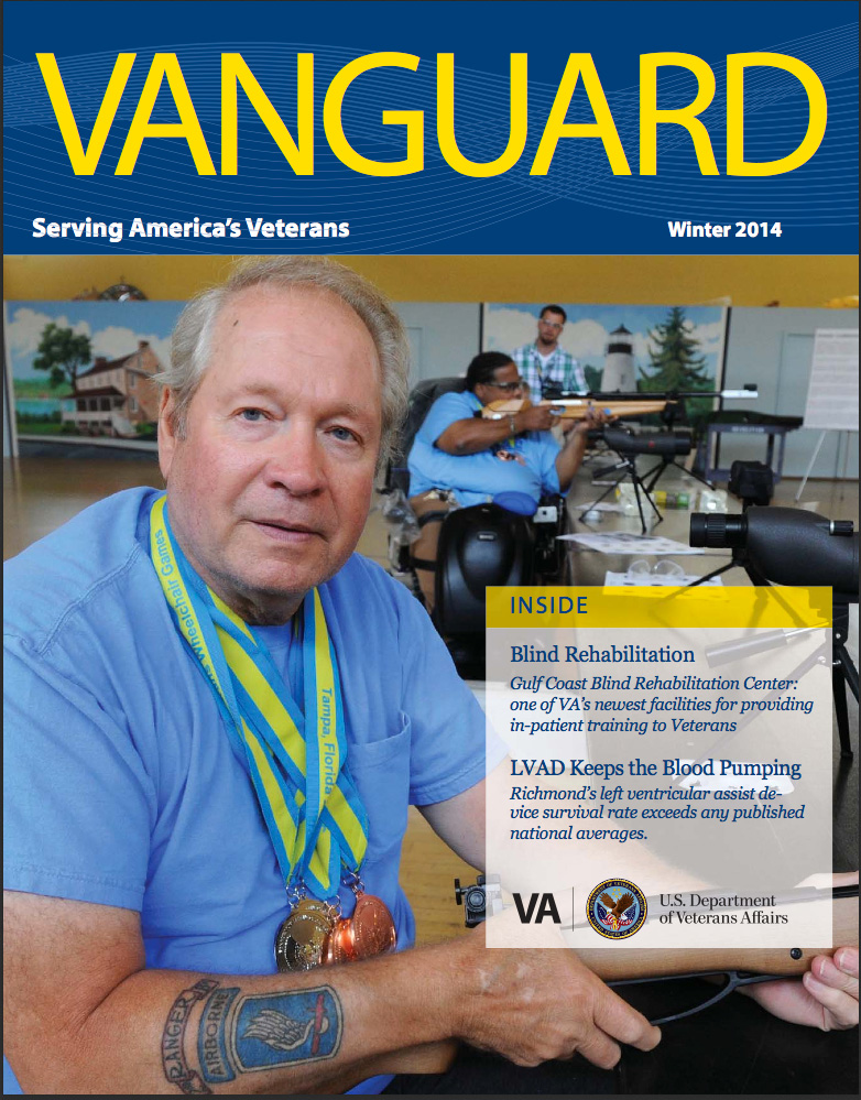 VAnguard Cover Winter 2014