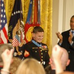 "Retired Marine Corporal William ""Kyle"" Carpenter received the Medal of Honor June 19 at the White House."