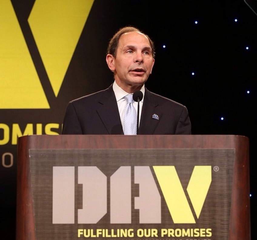 VA Secretary Robert McDonald speaks to a Disabled American Veterans conference Aug. 9 in Las Vegas, Nevada. (VA Photo / Reynaldo Leal)