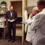 Sec. Robert McDonald listens to input from doctors at Phoenix VAMC #ICARE