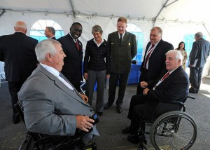 Dedication of the American Veterans Disabled for Life Memorial