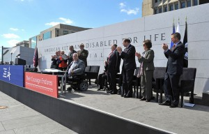 American Veterans Disabled for Life Memorial dedication