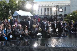 On Sunday, October 5, 2014, the American Veterans Disabled for Life Memorial was dedicated in Washington, D.C. (U.S Department of Veterans Affairs/Robert Turtil)
