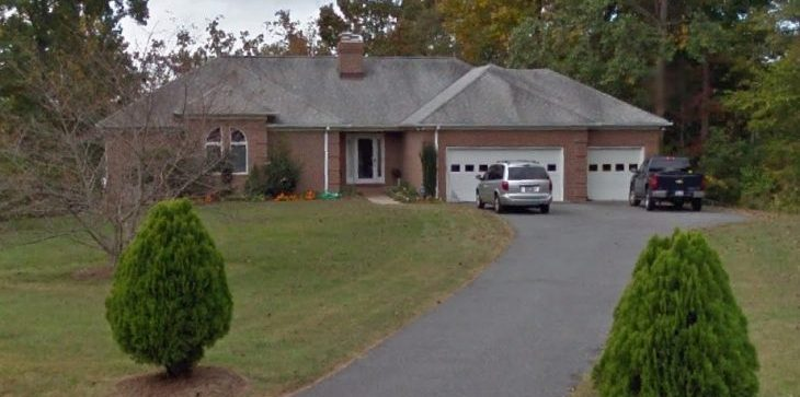 image of a brick house