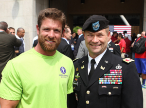 Noah Galloway at the 2013 Midwest Valor Games