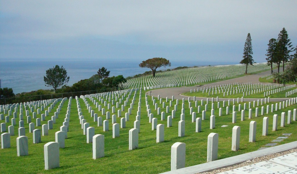 In 2014, Fort Rosecrans National Cemetery was listed as one of the most beautiful cemeteries in the world in an article appearing in both Smithsonian Magazine and Travel and Leisure.