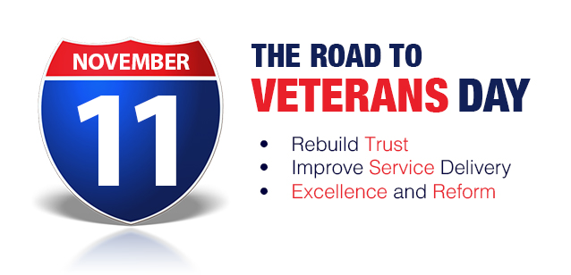 """Road to Veterans Day"" Sets Conditions for Long-Term Reform at VA"