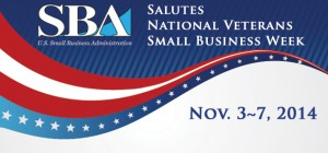SBA Salutes National Veterans Small Business Week