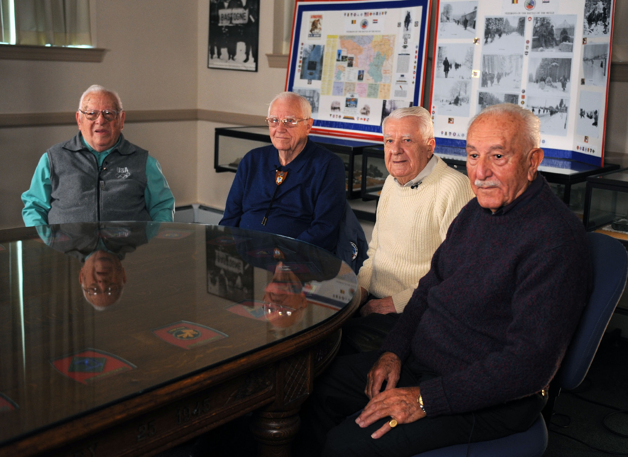 VAntage Point recently sat down with Battle of the Bulge Veterans Mike Levin, Douglas Dillard, John Schaffner and Al Shebab. Tomorrow, VAntage Point will post a portion of that conversation and video in remembrance of the epic battle that began 70 years ago.