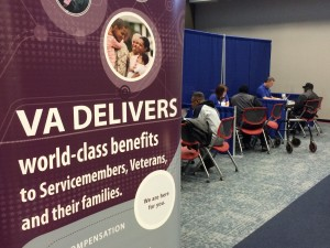 Winston-Salem VA employees serve North Carolina Veterans at claims clinic