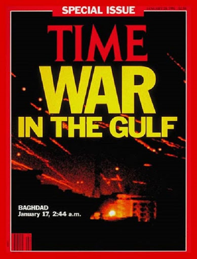 Time magazine cover - War in the Gulf