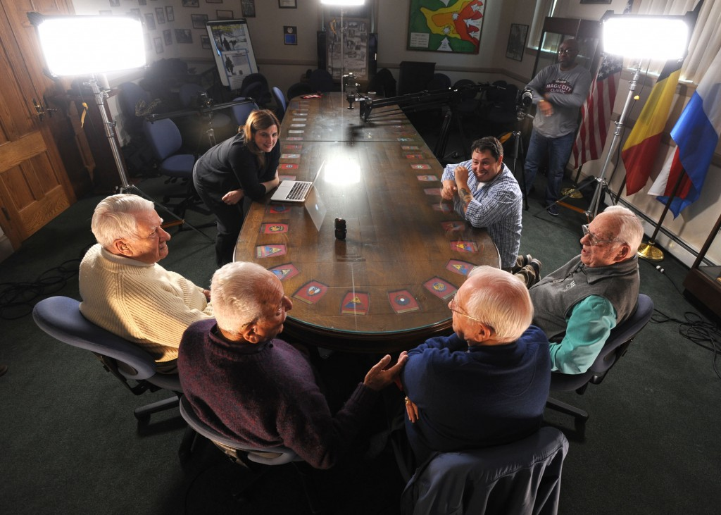 Living History: WWII Veterans recall experiences, shrug off 'Greatest Generation' label