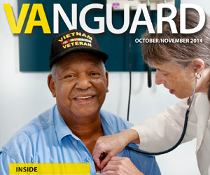 IMage of the latest edition of VAnguard