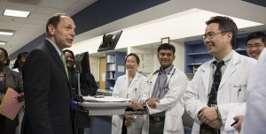 Sec. Bob McDonald at Bronx VAMC