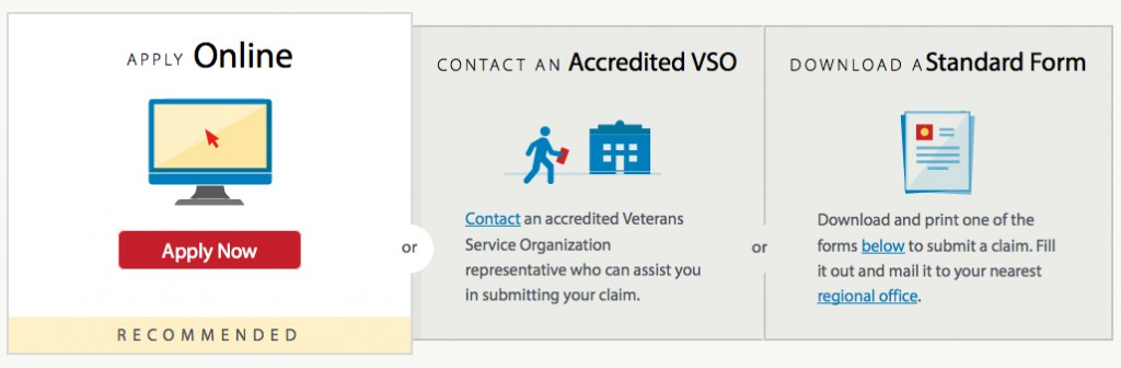 Requirement of standardized claim, appeal forms simplifies application process for Veterans