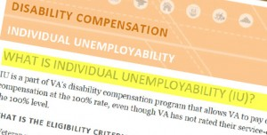 Individual Unemployability
