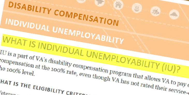 Va unemployability and social security disability