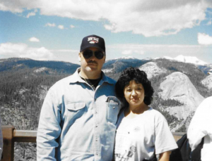 Gary and Patricia Spurlin. The Spurlins used VA insurance programs, including VMLI and S-DVI, when Gary was diagnosed with ALS.