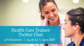 Health Care Trainees: Join our next Twitter Chat