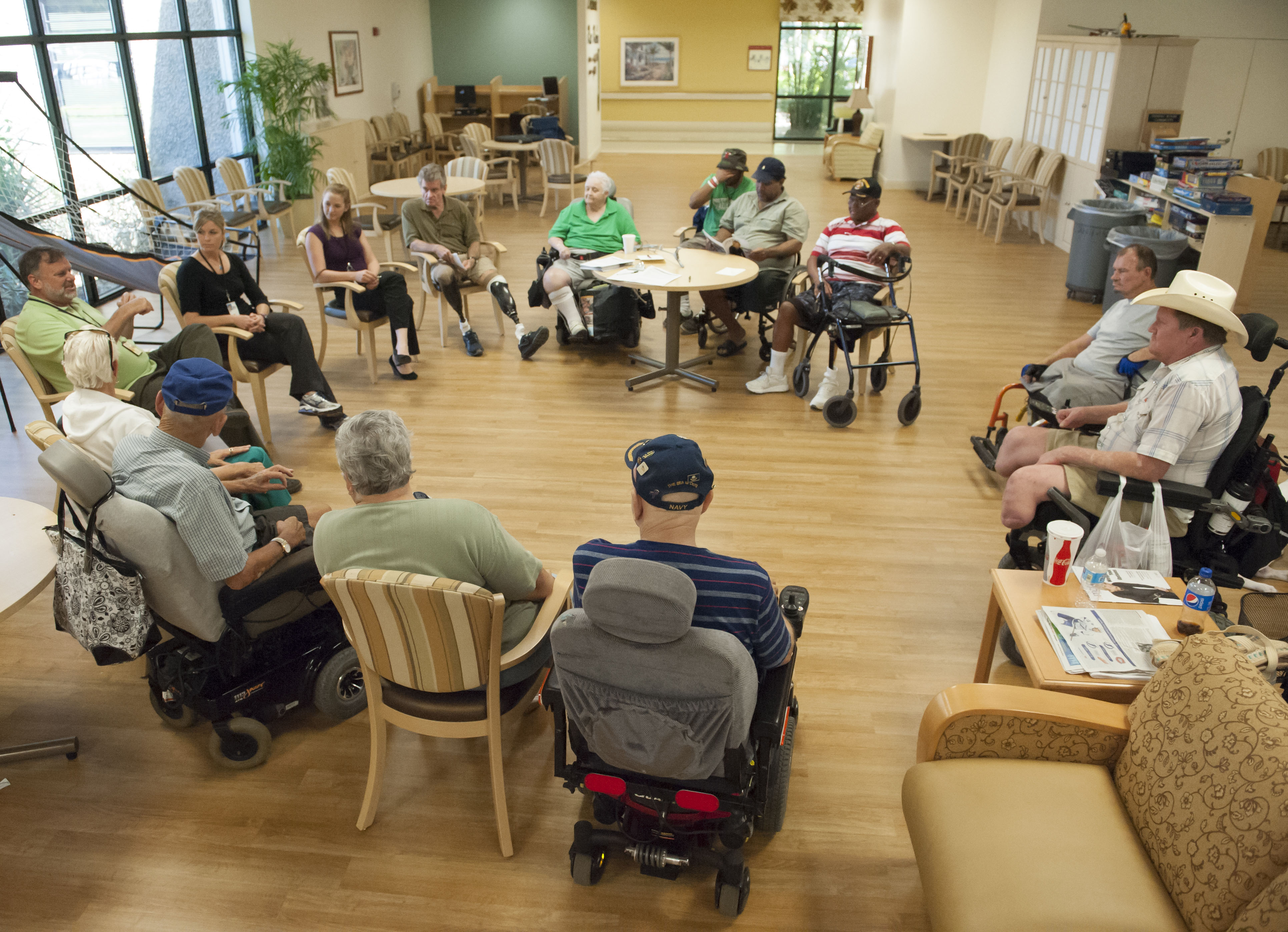 veteran amputee support group brings hope enhances life