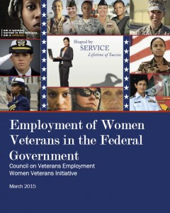 Employment of Women Veterans in the Federal Government