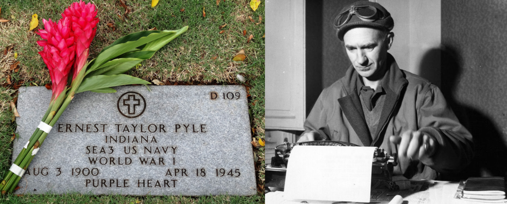 70th anniversary of war correspondent Ernie Pyle's death