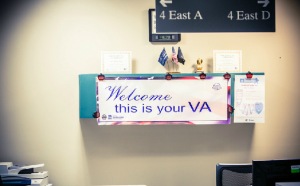 VA office sign