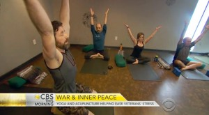 CBS This Morning: Yoga helps Veterans