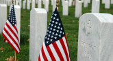 Flags in across America – A tribute to a legacy of service