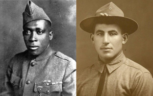 Sgt. Henry Johnson (left) and Sgt. William Shemin will posthumously receive the Medal of Honor.