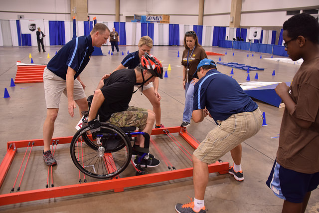Wheelchair Slalom Began As Va Therapy Now Most Beloved