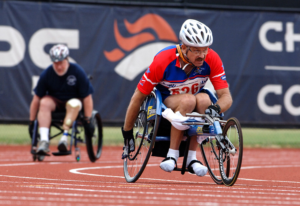 wheelchair vets roll into dallas for annual games vantage point