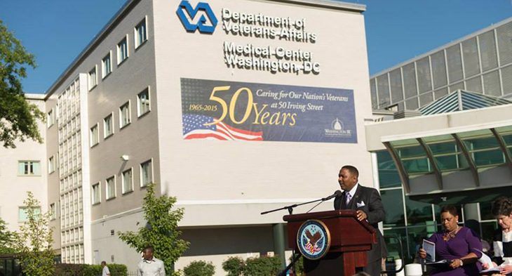 50 years of providing quality health care to Veterans in the nation's capital