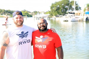 Team RWB helps Veterans from Tampa, Florida kayak