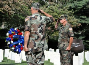 Lexington National Cemetery Spirit of '45 commemoration