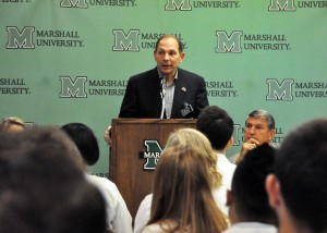 Sec. Bob McDonald at Marshall University School of Pharmacy
