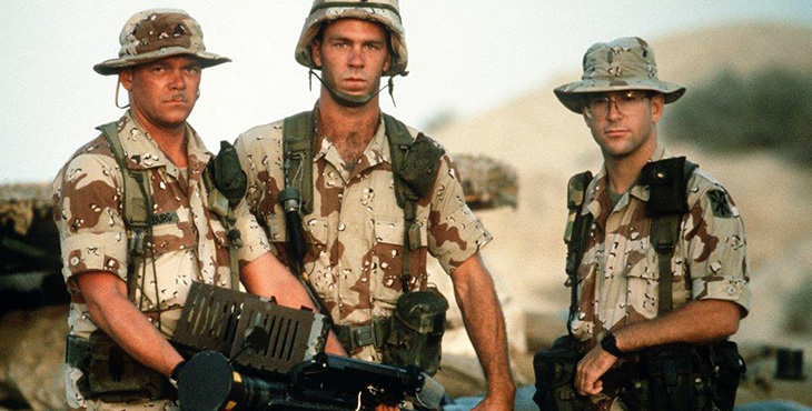 Operation Desert Storm: What were you doing in the service