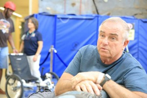 Veterans at the Tampa, Florida VAMC CPRP are introduced to adaptive sports.