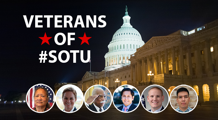 Veterans at the SOTU