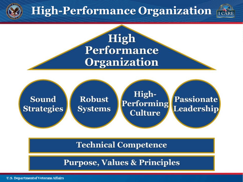 My VA: High Performance Organization