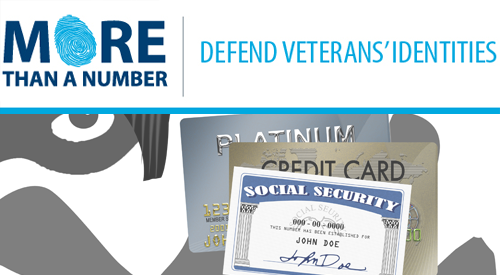 Veterans:  Protect yourself from ID theft by placing a security freeze on your credit file